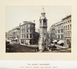 The Albert Monument, With Views Up Bohemia And Havelock Roads